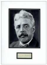 Arnold Bennett Autograph Signed Display
